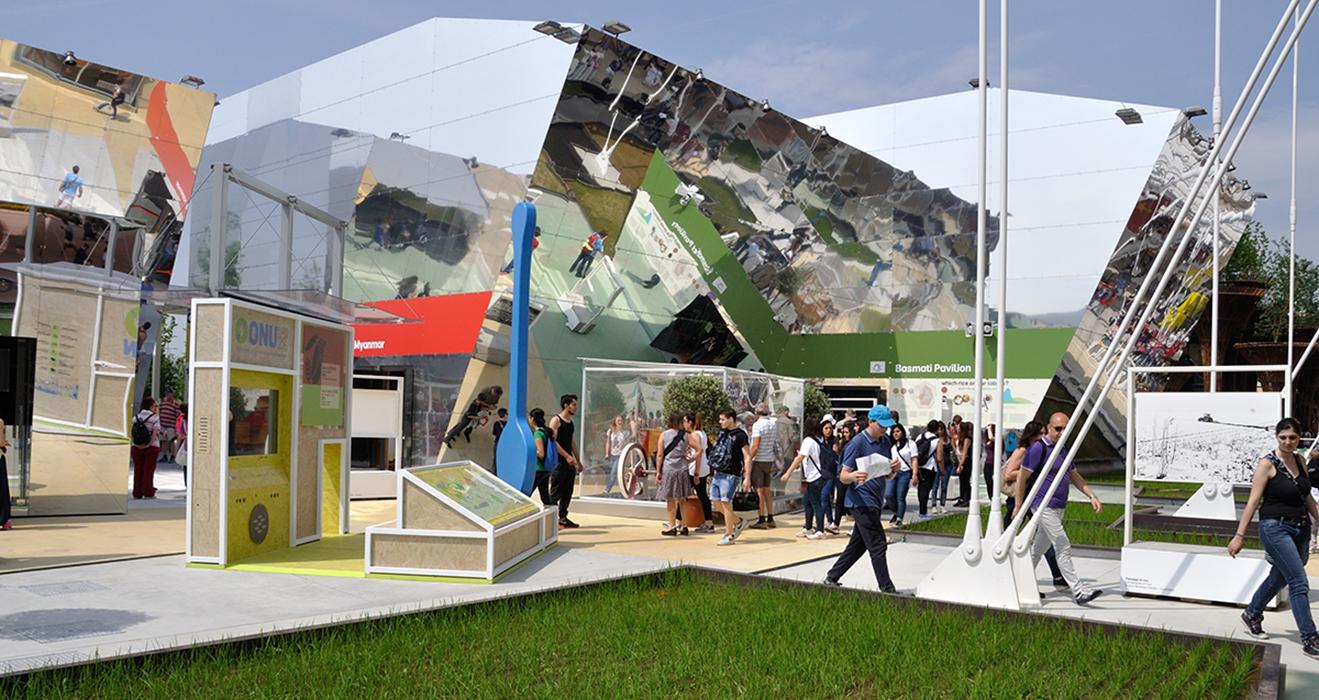 EXPO2015 - Cacao e riso